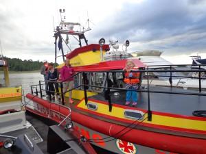sjöräddning på besök